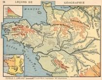 vintage french map print public domain