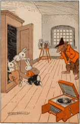 public domain vintage childrens book illustration billy bunny daddy fox 4 hugh spencer
