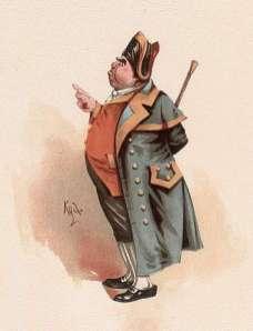 public domain vintage childrens book illustration mr bumble oliver twist rosa petherick