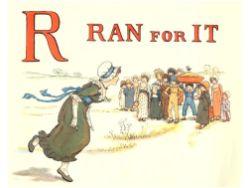 public domain vintage childrens book illustrations kate greenaway apple pie 5