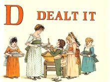 public domain vintage childrens book illustrations kate greenaway apple pie d