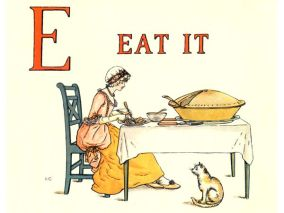 public domain vintage childrens book illustrations kate greenaway apple pie e