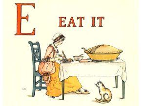 public domain vintage childrens book illustrations kate greenaway apple pie e