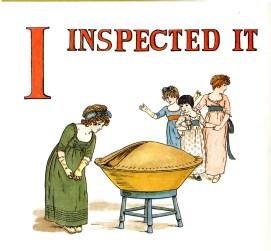 public domain vintage childrens book illustrations kate greenaway apple pie i