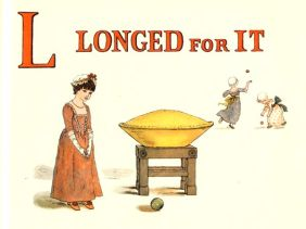 public domain vintage childrens book illustrations kate greenaway apple pie l