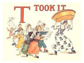 public domain vintage childrens book illustrations kate greenaway apple pie t
