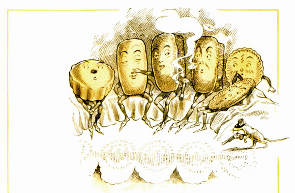 Free Public Domain Illustrations From A Vintage Childrens Cookbook