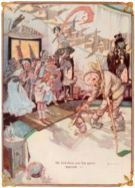 public domain vintage color book 2 illustration emerald city of oz