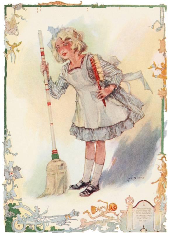 Public Domain Vintage Color Book 3 Illustration Emerald City Of Oz