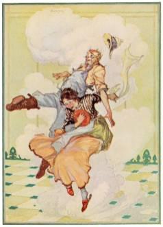 public domain vintage color book 4 illustration emerald city of oz
