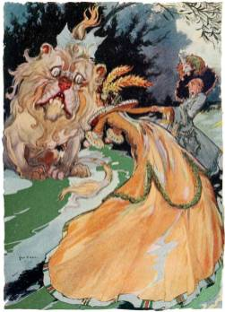 public domain vintage color book 5 illustration emerald city of oz