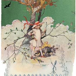 public domain vintage color book 9 illustration emerald city of oz