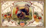 public domain color vintage thanksgiving greeting 2