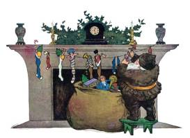 public domain image twas the night before christmas pic 9