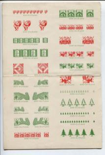 free antique christmas graphics 1940s image 1