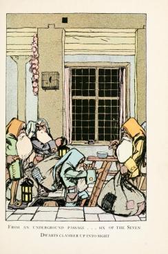 vintage public domain book illustration snow white and the 7 dwarves image 2
