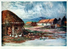 This is a free antique illustration of Ireland in the early 20th Century