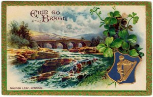 Antique St. Patrick's Day Postcard