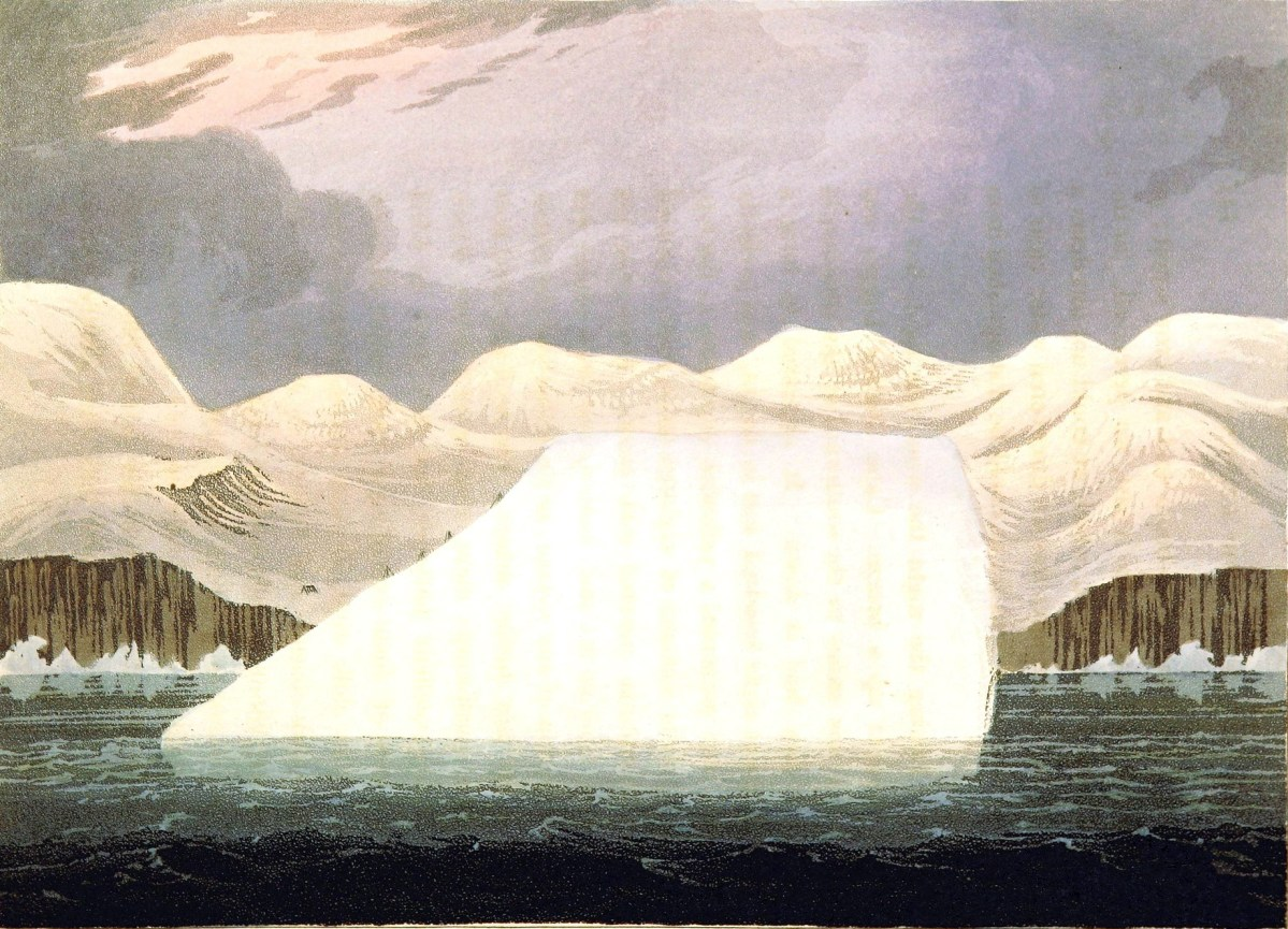 Check out these 19th century iceberg illustrations from the public domain!