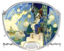 vintage fairies illustration 1920s public domain