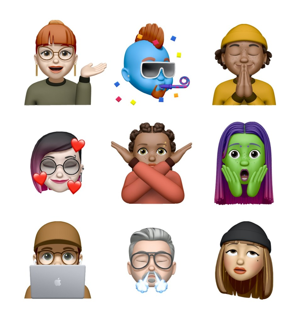 memojis ios 13 4 - what's new On iOS 13.4, macOS 10.15.4, watchOS 6.2 (and other OS)