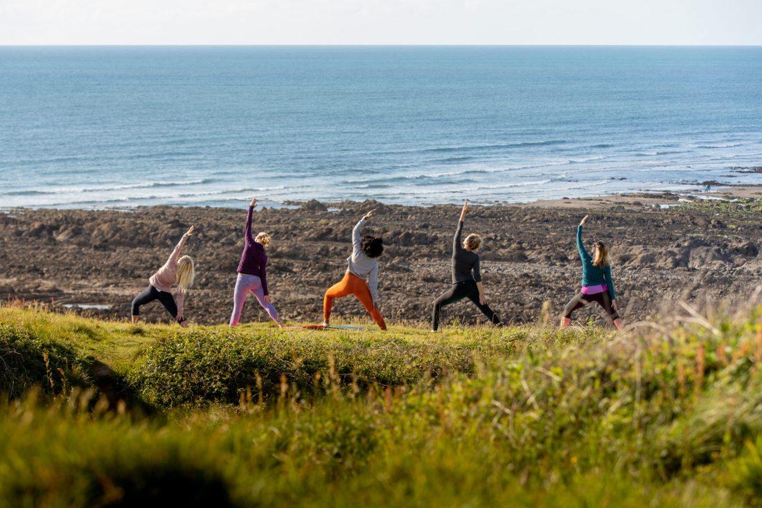 Cliff Top Yoga