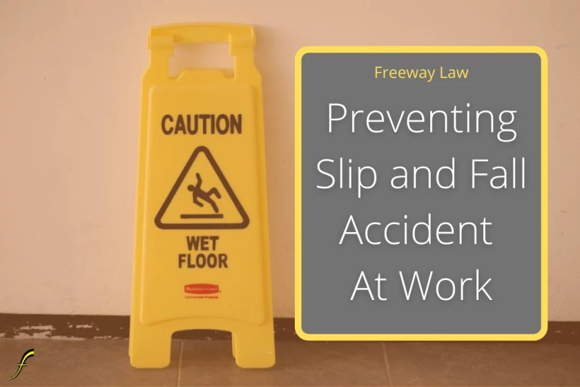 preventing slip and fall