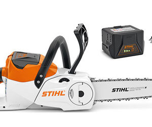 Stihl MSA 140 C-BQ with AK 30 and AL 101 Compact Battery Chainsaw