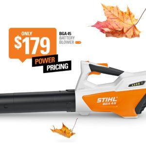 STIHL Battery Powered Blower BGA 45