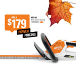 STIHL Battery Powered Hedge Trimmer HSA 45