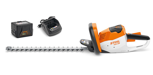 Stihl HSA 56 Compact Battery Hedge Trimmer including battery and charger