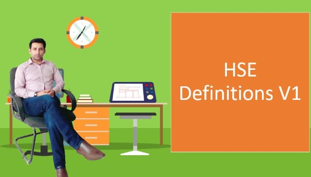 HSE Definitions V1