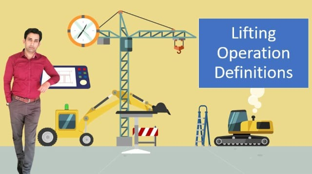 Lifting Operation Definitions