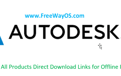 Autodesk 2020 All Products Direct Download Links for Offline Installer