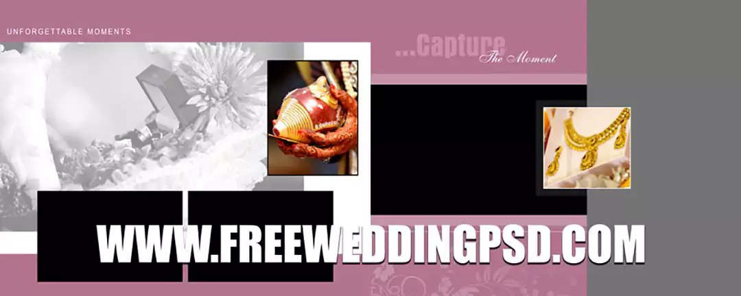 wedding elements psd free download