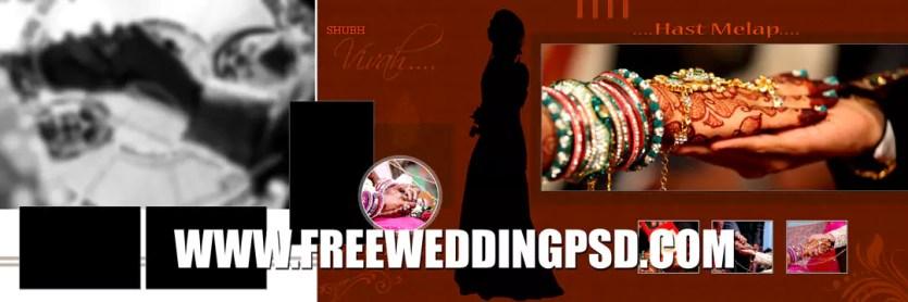 free photoshop wedding program template
