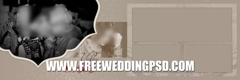 wedding album psd free download