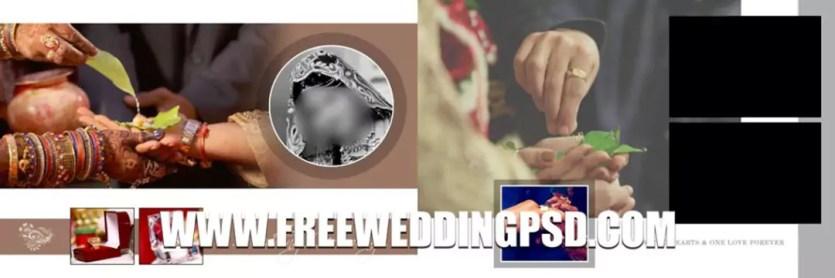 wedding menu template psd free