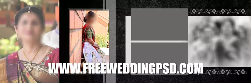 free wedding album psd templates download