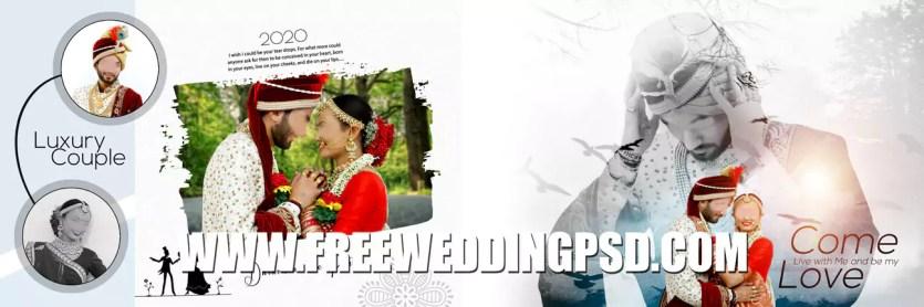 new 10 Wedding Album DM Design PSD Free Download