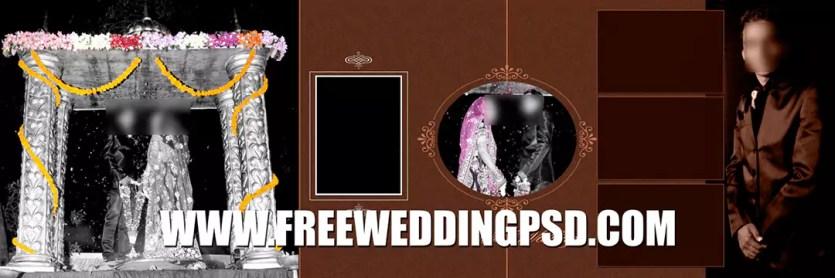 wedding website psd free download