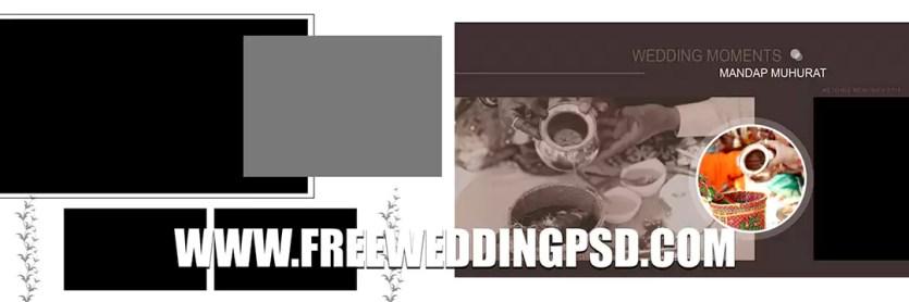 free wedding brochure psd