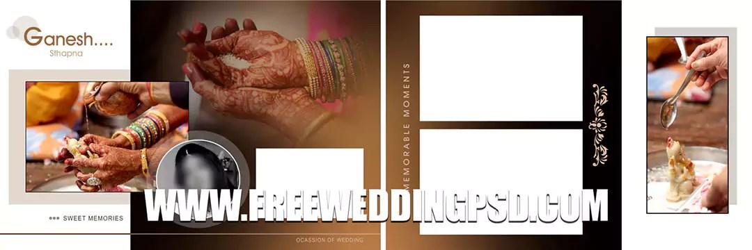 free psd wedding flyer templates