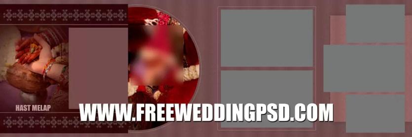 wedding label psd