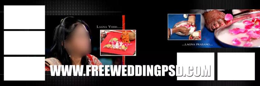 wedding invitation sample psd