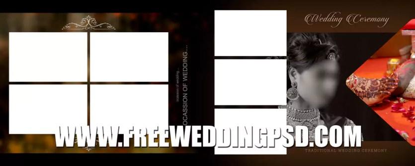 indian wedding album psd download
