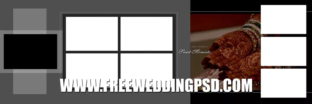 Free Wedding Psd 12 X 36 (740) | indian wedding banner psd