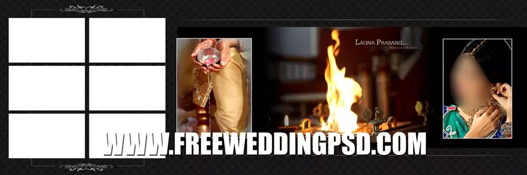 psd indian wedding 12×36 12×30 template