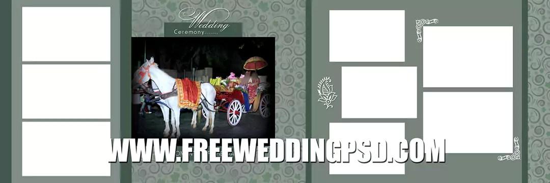indian wedding album design 12×36 psd