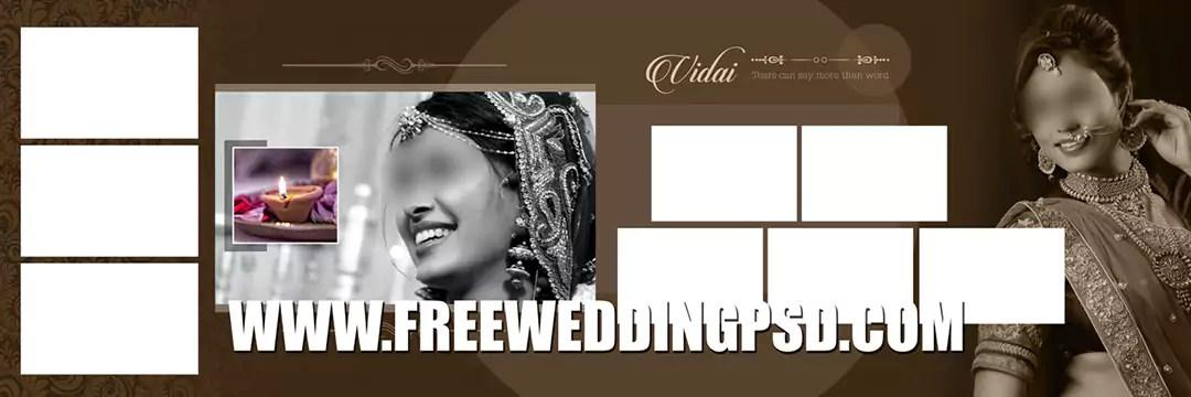 Free Wedding Psd 12 X 36 (786) | indian wedding album